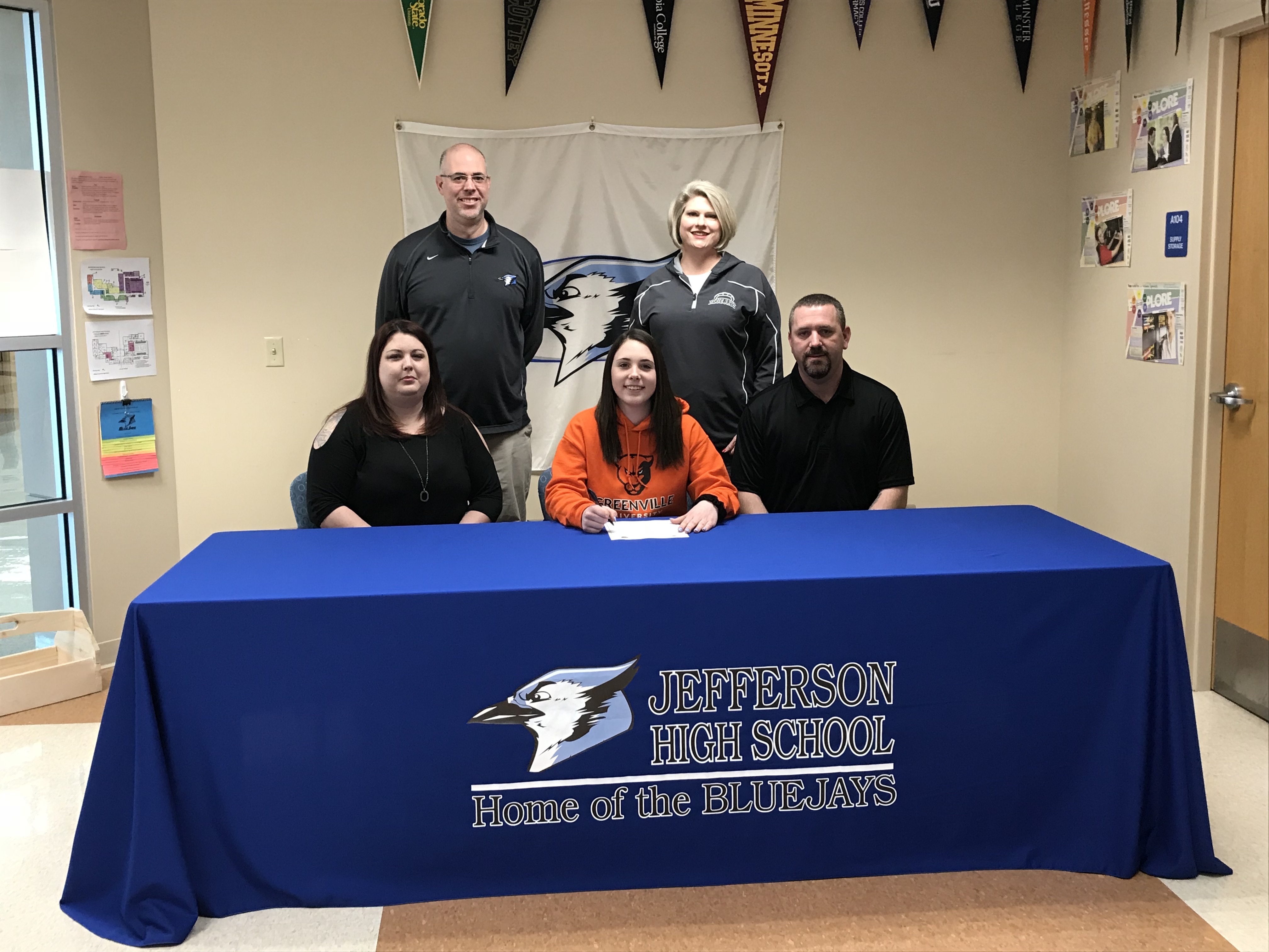Price Signs to play Volleyball