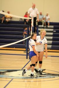 Varsity Volleyball vs Crystal City 9/25/18