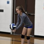 7th grade Volleyball vs Herky Oct 1, 2018