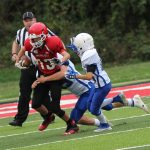 Middle School Football @ Crystal City 10/4/18 That's a WIN!