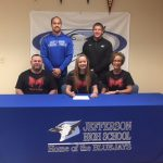 Courtois Signs to Run Track and Field