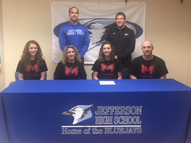 Allen Signs to run Track and Field