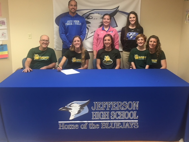 Jordan Heacock signs to run Track and Field
