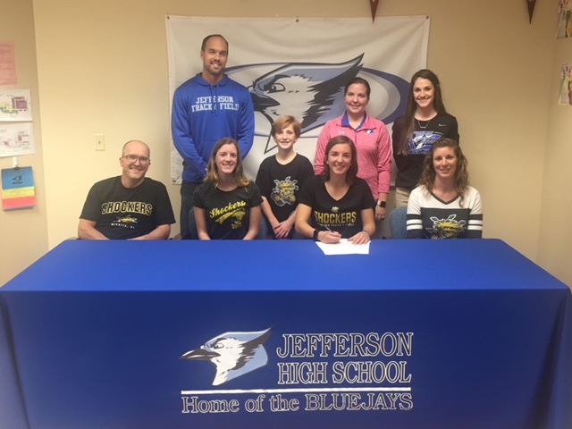 Anna Heacock signs to run Track and Field