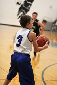 8th grade Boys' Basketball vs Sunrise