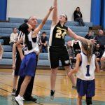 7th grade girls' basketball vs Grandview