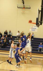12/11/18 9th grade boys basketball vs Seckman by Elijah Chatfield