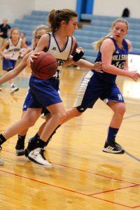 7th grade Girls' Basketball vs Hillsboro 1/7/19