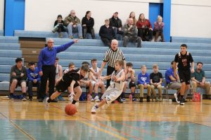 8th grade boys' basketball vs Herculaneum