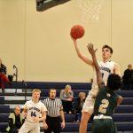 Jefferson Varsity  Boys Basketball vs Bayless final score 68-35