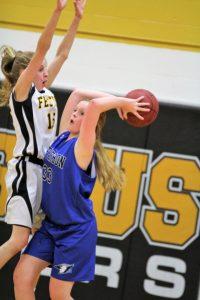 7th grade Girls' Basketball vs Festus 1/17/19