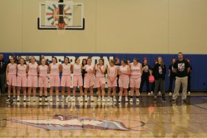 Varsity girls' basketball vs Herculaneum 1/18/19