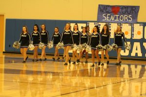 HS Winter Dance during the Girls' Basketball Crystal City game