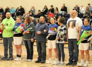 Senior Girls Sports Recognition Night 2/11/19