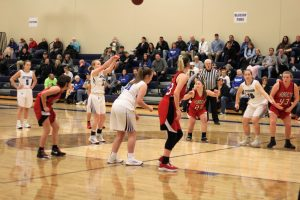 Varsity Girls' Basketball vs Crystal City 2/11/19