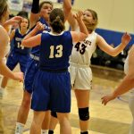 Varsity Girls' Basketball vs Herculaneum 2/18/19