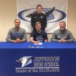 Davis Signs to Run Track and Field