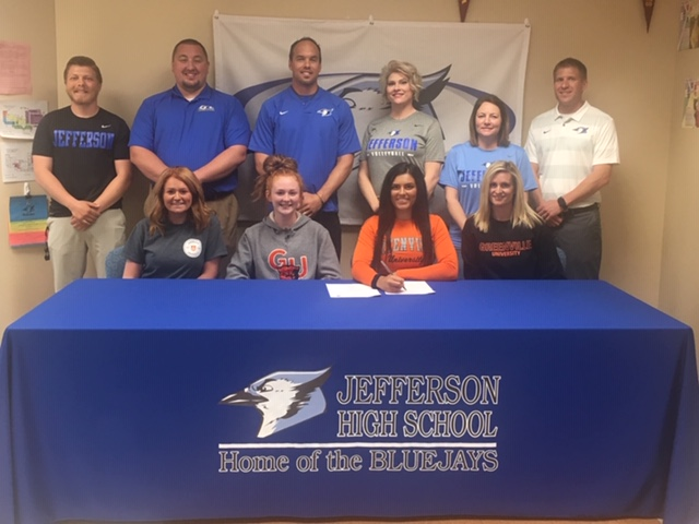 Edmond Signs for Volleyball and Track