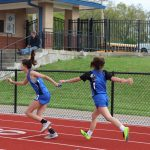 Middle School track meet at Hillsboro April 23, 2019