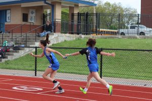 Middle School track meet at Hillsboro April 23, 2019