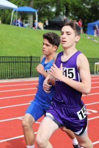 Jefferson High track team @Principia May 4, 2019