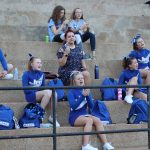 Middle School Cheer at the R-7 Middle School  vs Crystal City football game 9/12/19