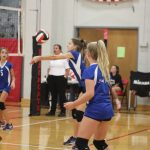 7th grade volleyball defeats Herculaneum during Senn Thomas Tournament 10/14/19