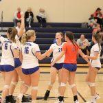 Varsity Volleyball vs Saxony Lutheran October 21, 2019