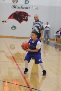 7th grade boys' basketball vs Senn Thomas -#1!