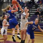 Varsity Girls' Basketball loss to West County 32 - 65