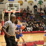 Varsity Boys' Basketball loss to South Iron 49-90