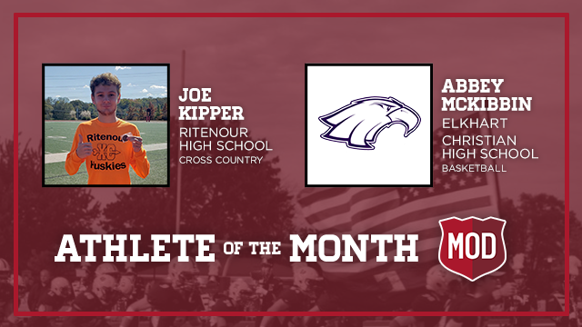 And the December MOD Pizza Athlete of the Month is….