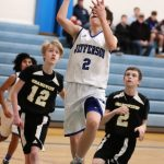 8th grade boys defeat Grandview 43-23