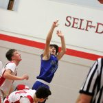 7th Grade boys' Basketball defeats Crystal City 44-37