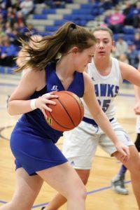 8th grade Girls' Basketball loses to Hillsboro 14-37