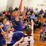 7th Grade Boys' Basketball win over Senn Thomas 18-11