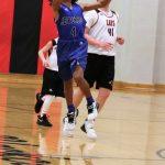 8th grade Boys' Basketball loses to Senn Thomas 15-29