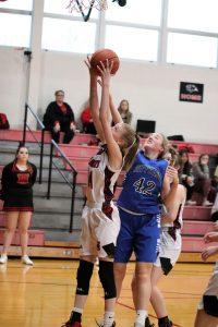 Girls' JV Basketball loses to Herculaneum 15-25 1/24/20