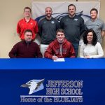 Ebersoldt Signs to Play Baseball