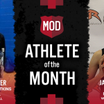 The MOD Pizza January Athlete of the Month is…