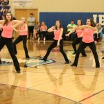 Dance team at the Hoops for Hope Basketball Game 2/3/2020