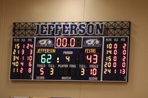 Varsity Boys' Basketball defeats Festus 62-43 Feb 11, 2020