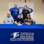 Perry Signs to play Football