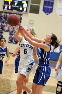 Junior Varsity Girls' Basketball defeats Valle Catholic  22-17