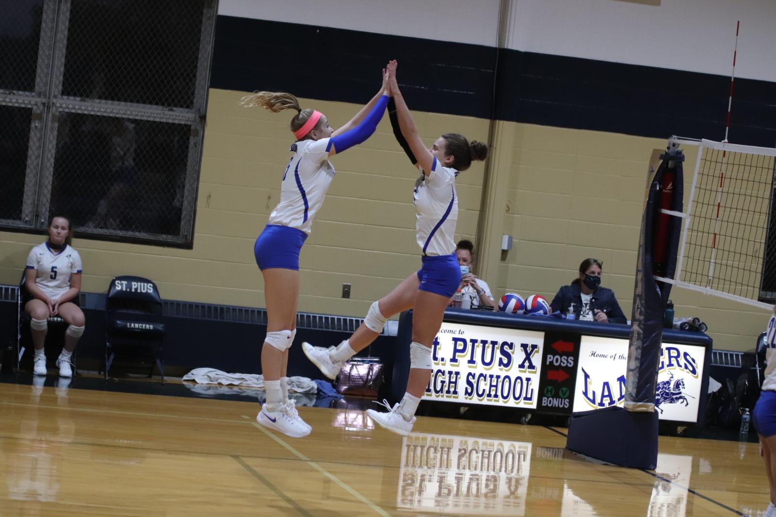 Varsity Volleyball vs St Pius 10/6/20