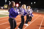 Fall Cheer during the JHS vs St Pius Football Game