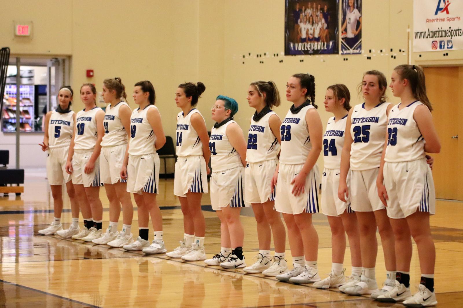Varsity Girls' Basketball Defeats St Paul Lutheran 48-44  12/10/20