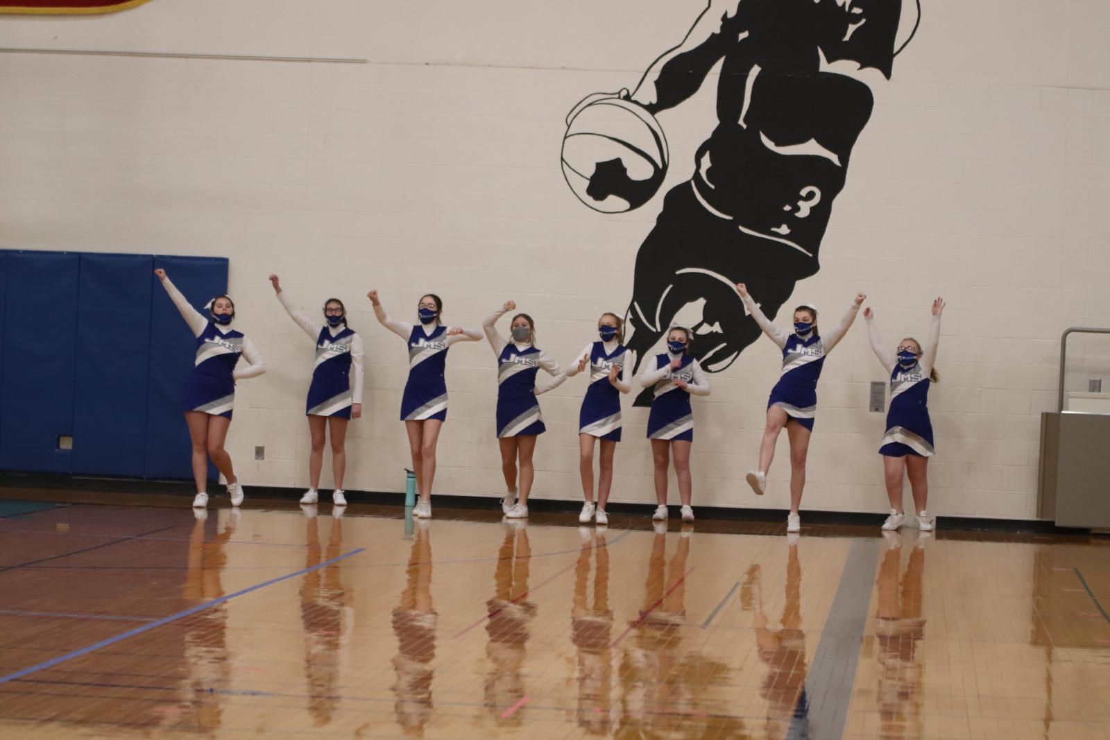 Middle School Winter Cheer 1/05/21