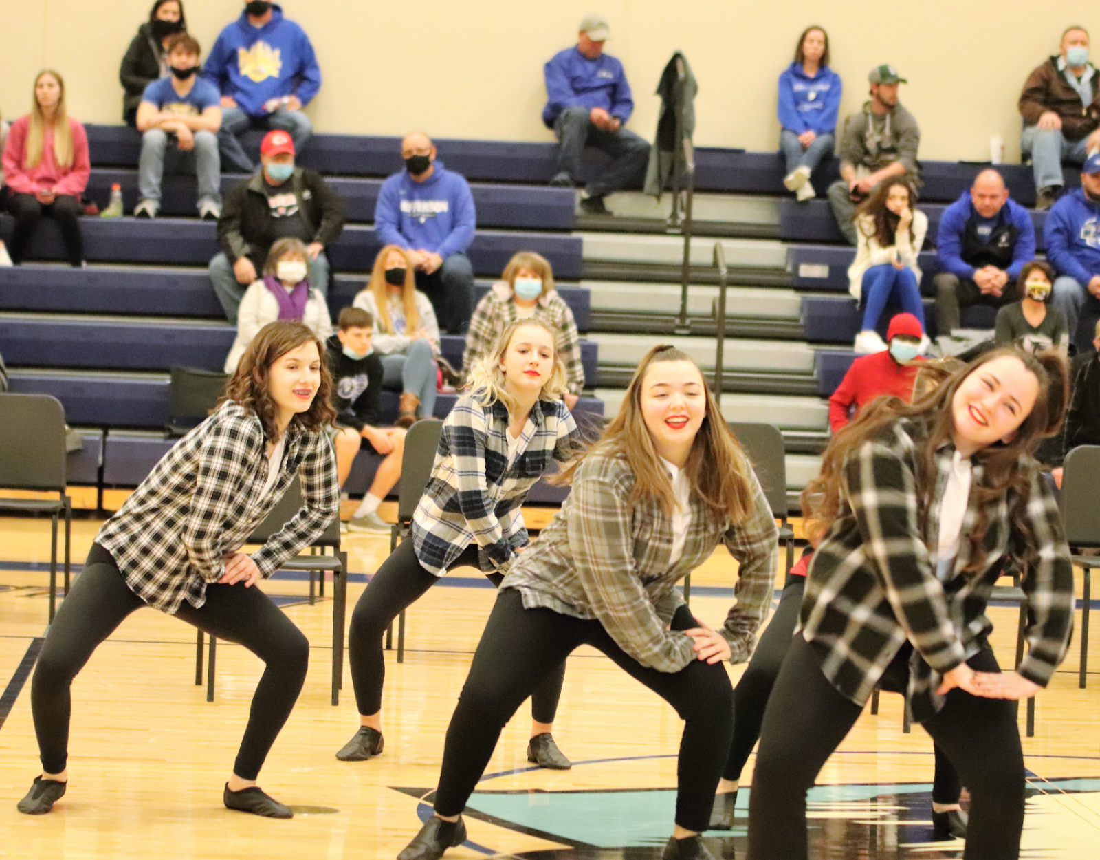 Dance Team during the Scott City Games