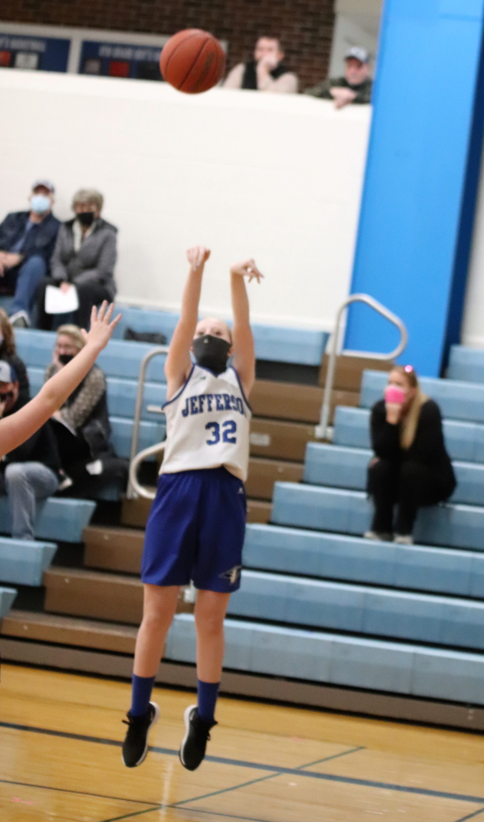 7th Grade Girls' Basketball defeats Festus 52-14    1/21/21